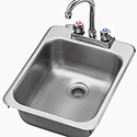 "Drop In Sink - (1) 11""Wx13-1/4""Dx5-1/2""H"