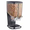 Economy Dry Food Dispenser - 2.2 Gallon Capacity, Black Stand