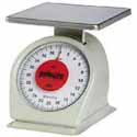Washable Kitchen Dial Scale - Heavy Duty 40 lbs. x 2 oz. Capacity