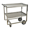 """Advance Tabco - UCS-1 - Utility Cart, Heavy Duty, Stainless Steel, 2 Shelves 21"""" X 33"""""""