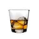 Anchor Hocking 90253 Double Old Fashioned Glass, 12 oz., DZ of 2/CS