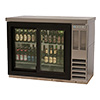 "Beverage-Air BB48GSY-1-S - 48"" W Back Bar Cooler"
