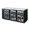 "Beverage-Air BB78G-1-B-PT - 79"" W Back Bar Cooler"