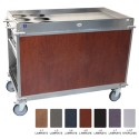 Cadco BC3L1 Mobileserv Beverage Cart, Large Size