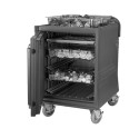 Cambro CMBPLHD615 Combo Cart Plus, Non-Electric, Insulated