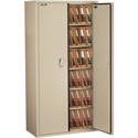 FireKing CF7236-MDPA Double door storage cabinet with end tab inserts