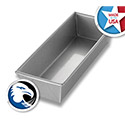 Chicago Metallic 40495 Loaf Pan, Alum Steel, Glazed