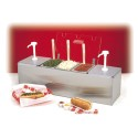 Nemco 88100-CB-1 Condiment Bar