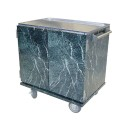 Cres Cor 101172A Enclosed Mobile In-Suite Service Cart