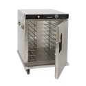 Cres Cor H339SSUA8C Insulated Half-Height Mobile Heated Cabinet