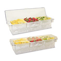 Co-Rect CHD024 Ice Cooled Condiment Holder, CS of 6/EA