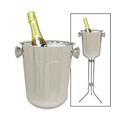 Co-Rect IG5188 Ice Bucket, 8 Qt., Stainless Steel Finish
