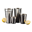 American Metalcraft MM100 Cocktail Shaker, Malt Cup, Stainless Steel, 32 Oz.