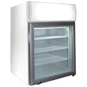 Excellence CTF-2MS Countertop Freezer w/ Merchandising Sign