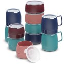 Dinex DX118515 Classic Stackable Insulated Bowl 9 Oz - Teal, CS of 48/EA