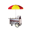 "Eagle Group HDC48-120NYF Hot Food Merchandising Cart, 48""L x 22-1/2""W, (2) insulated heat wells"