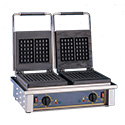 Equipex GED20 Sodir Waffle Baker, Electric, Double, Cast Iron Plates
