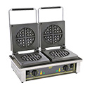 Equipex GED75 Sodir Waffle Baker, Electric, Double, Cast Iron Plates