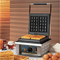 Equipex GES101 Sodir Waffle Baker, Electric, Single, Cast Iron Plates