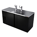 Fagor FDD-69 Draft Beer Cooler, 2 section, (3) keg capacity