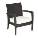 Florida Seating Miami Beach Wicker Armchair