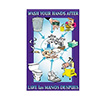 Franklin Machine Products 142-1498 - Wash Your Hands Poster