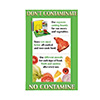 Franklin Machine Products 142-1499 - Don'T Contaminate Poster