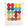 Franklin Machine Products 280-1641 - Identification Cap Labels 1 Sheet Of 24