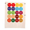 Franklin Machine Products 280-1772 - Identification Cap Labels 3 Sheets Of 24
