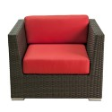 Florida Seating Crystal Beach Arm Chair, Designed For Outdoor Use