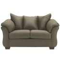 Signature Design by Ashley Darcy Loveseat in Sage Fabric