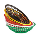 "G.E.T. Enterprises RB-820 - Bread & Bun Basket, 8"" x 2"" deep"
