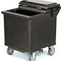 Carlisle IC225003 Cateraide Ice Caddy (2 Rigid Casters, 2 Swivel Casters)