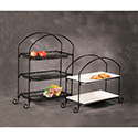 American Metalcraft IS13 Stand, Rectangular, Three-Tier