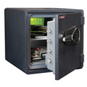 FireKing KY1313-1GREL 1-Hour Fireproof Safe and Water Resistant with Electronic Lock