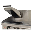 Lang CSE12AG Broiler/Griddle, Clam Shell, Gas