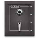 Mesa Safe MBF1512C 1.7 Cu. Ft. Burglary & Fire Safe, All Steel Safe with Combination Lock, Hammered Grey