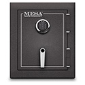 Mesa Safe MBF1512E 1.7 Cu. Ft. Burglary & Fire Safe, All Steel Safe with Electronic Lock, Hammered Grey