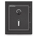 Mesa Safe MBF2620E 3.9 Cu. Ft. Burglary & Fire Safe, All Steel Safe with Electronic Lock, Hammered Grey