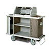 "Metro LXHK3-PRO - Lodgix Pro Cart, 60""L, Standard Height, 22""Wx60""Dx55""H"