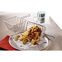 American Metalcraft MFRYBSKT Stainless Steel Fry Basket, Rectangular
