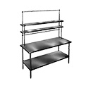 """Eagle Group 430202-X Post, 30""""H, for use with Flex-Master table-mount overshelf"""