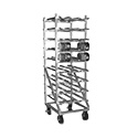 Eagle Group OCR-10-9A Panco Can Rack, full size, mobile design