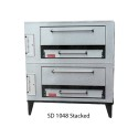 Marsal & Sons SD1048STACKED Gas Pizza Oven, Stacked