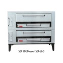 Marsal & Sons SD1060SD660 Gas Pizza Oven, Stacked