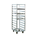 "Roll-In Refrigerator Rack, Open Frame Design, 64"" H"