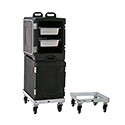"""New Age Industrial 99144 Food Carrier Dolly, 17-1/2""""W X 8-5/8""""H X 23-7/8""""D, Platform Design"""