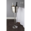 """American Metalcraft OWBS Wine Bucket Stand, Two-Bottle, 24-1/4"""" H"""