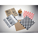 """American Metalcraft PPCH2N Fry Paper, Square, Natural, 12"""""""