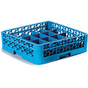 """Carlisle RC20-114 OptiClean 20 Compartment Cup Rack with 1 Open Extender 19.75"""" x 19.75"""" x 5.56"""" , EA of 4/CS"""
